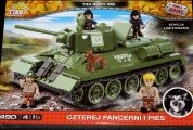 Cobi 2485 - T34 / 76 Rudy 102 LIMITED EDITION Red Army (Edition 1/2016)
