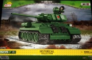 Cobi 2476a - T34 / 85 Tank Red Army
